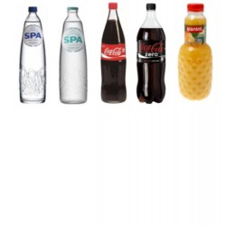 Softdrinks 2 per personne...